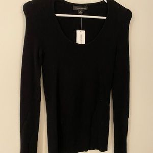 Nice fitted black work sweater
